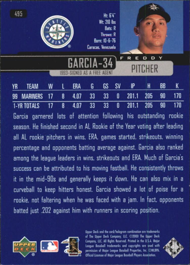 2000-Upper-Deck-Beisbol-Tarjeta-Recoger-274-540 miniatura 411