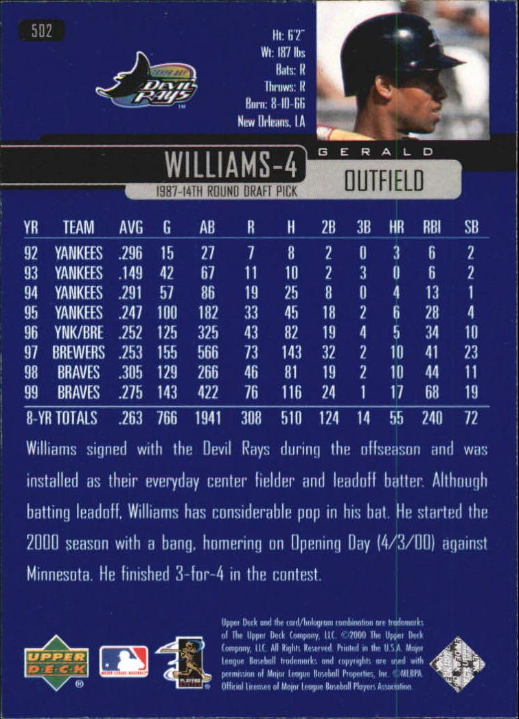 2000-Upper-Deck-Beisbol-Tarjeta-Recoger-274-540 miniatura 425