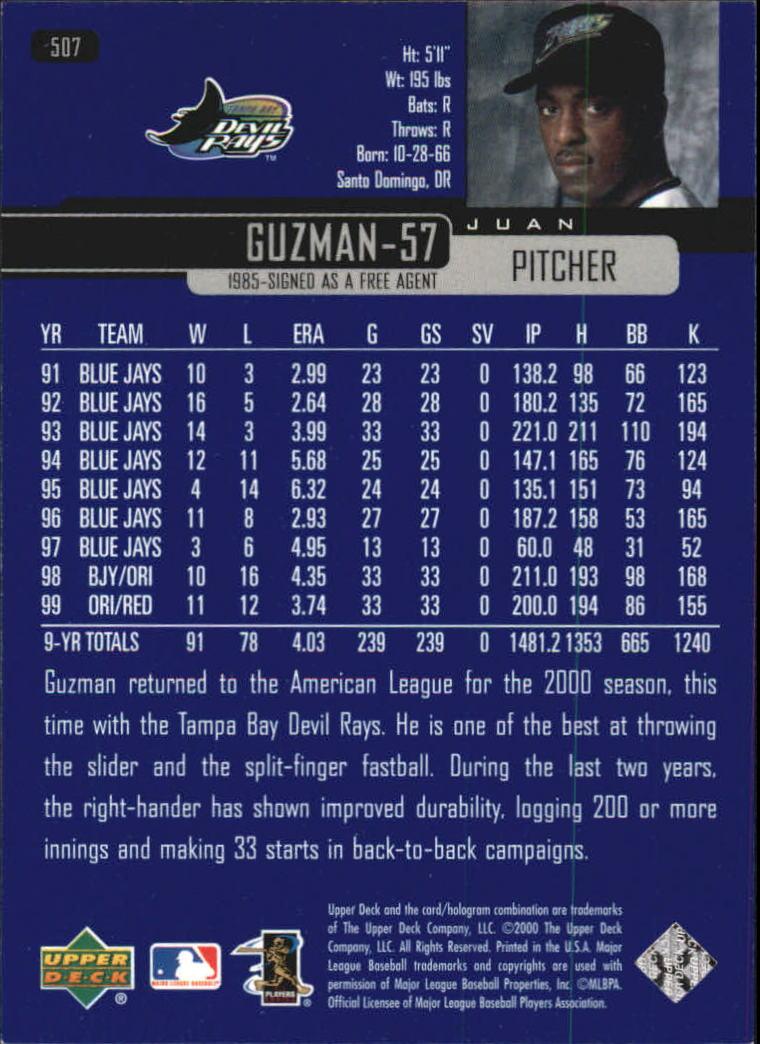 2000-Upper-Deck-Beisbol-Tarjeta-Recoger-274-540 miniatura 433