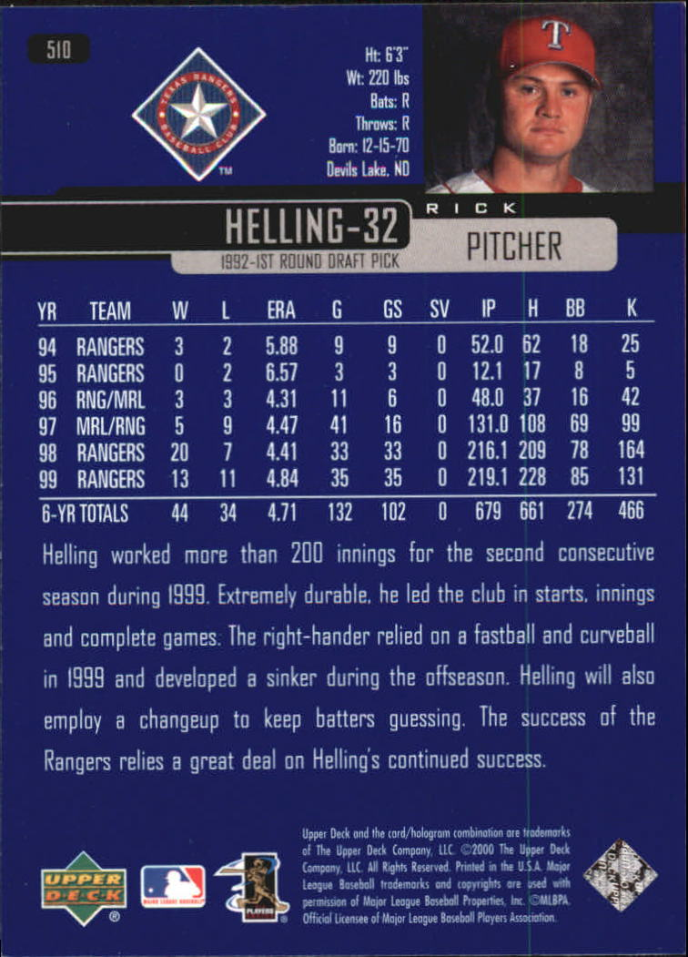 2000-Upper-Deck-Beisbol-Tarjeta-Recoger-274-540 miniatura 437