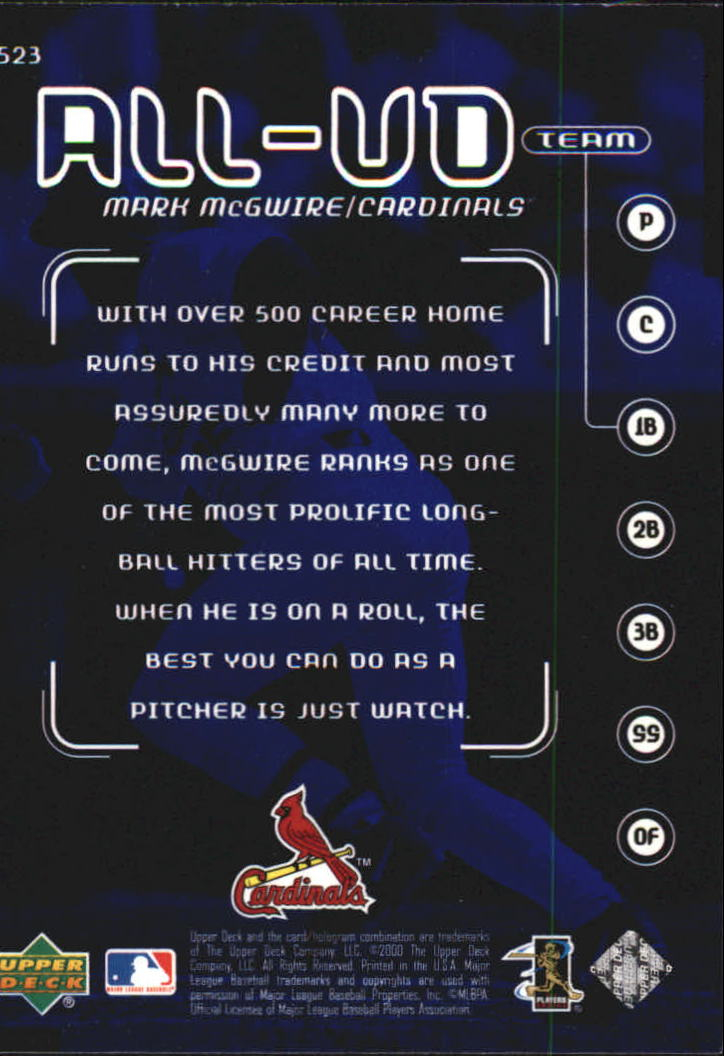 2000-Upper-Deck-Beisbol-Tarjeta-Recoger-274-540 miniatura 459