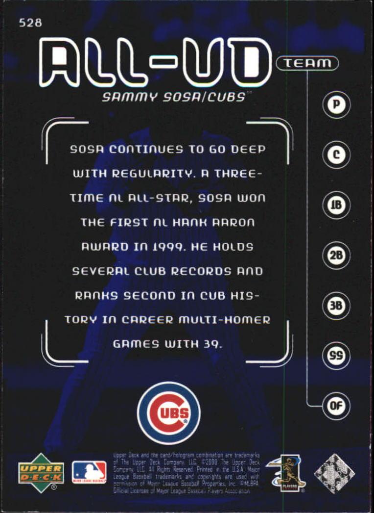 2000-Upper-Deck-Beisbol-Tarjeta-Recoger-274-540 miniatura 465