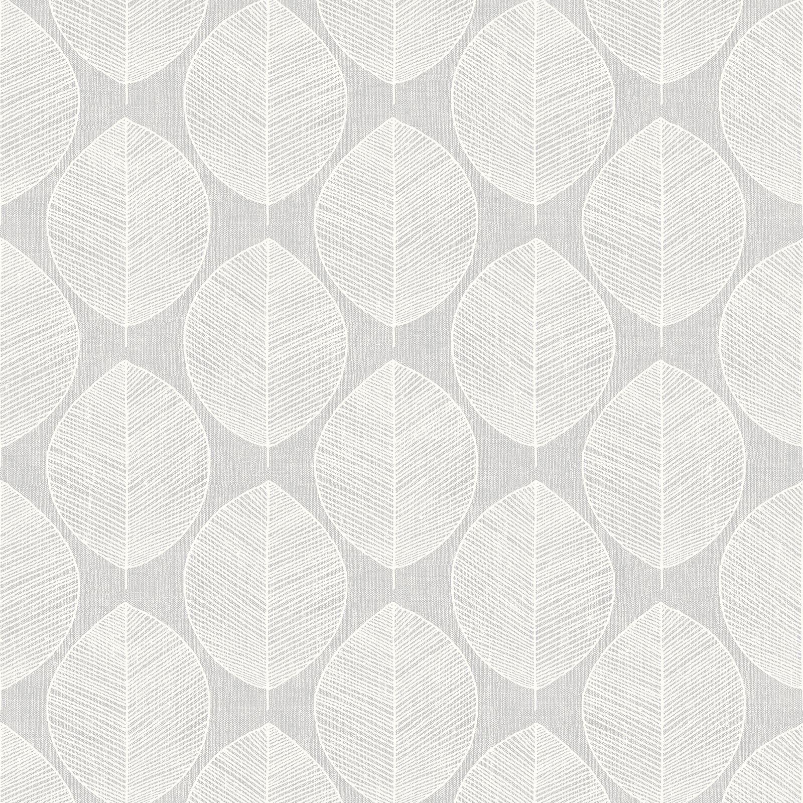 Arthouse Feuille Triangle Treillage Papier Peint Geometrique Lin
