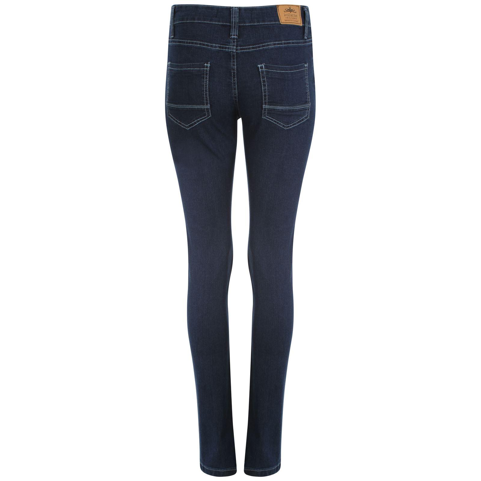 femmes jeans slim filles lastique pantalon jegging grande taille ebay. Black Bedroom Furniture Sets. Home Design Ideas