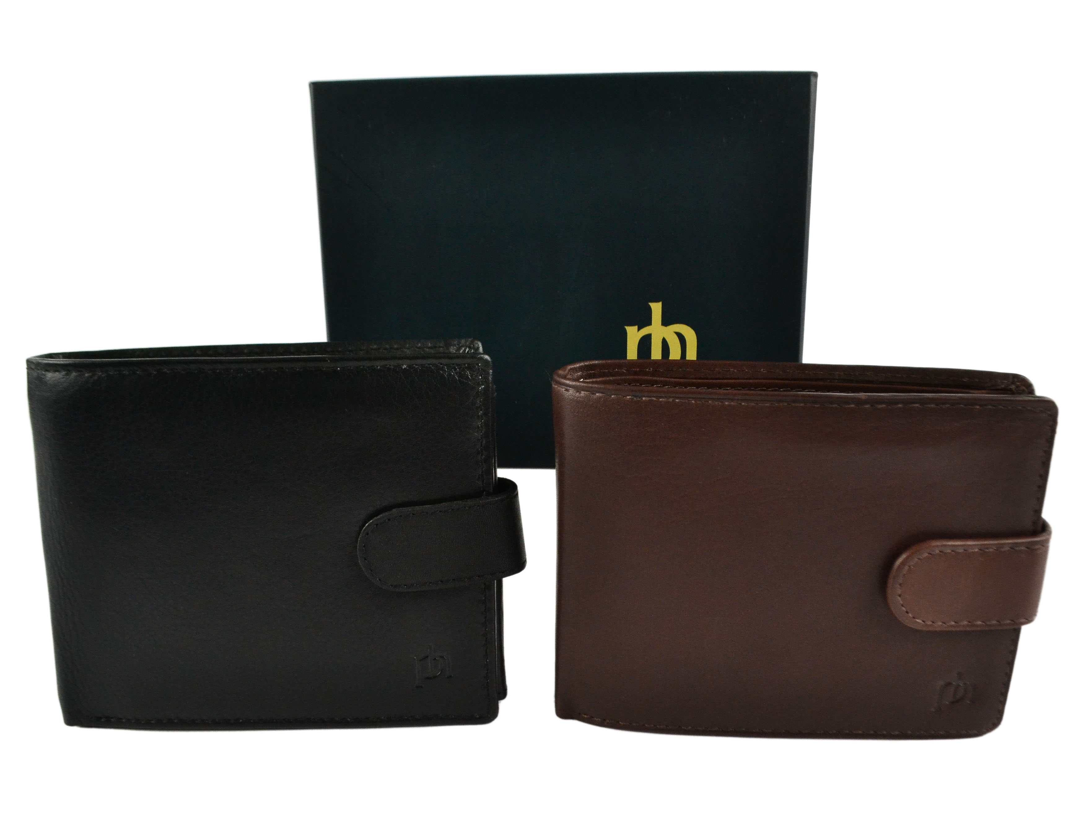 Mens-Quality-Leather-Wallet-by-Prime-Hide-Gift-Boxed-Stylish-with-Coin-Pocket thumbnail 8