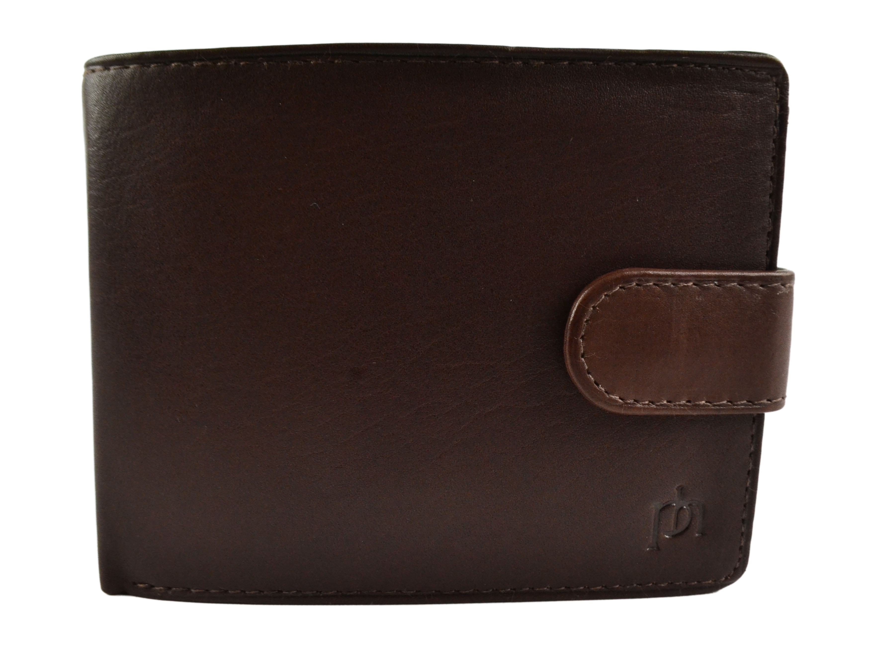 Mens-Quality-Leather-Wallet-by-Prime-Hide-Gift-Boxed-Stylish-with-Coin-Pocket thumbnail 10
