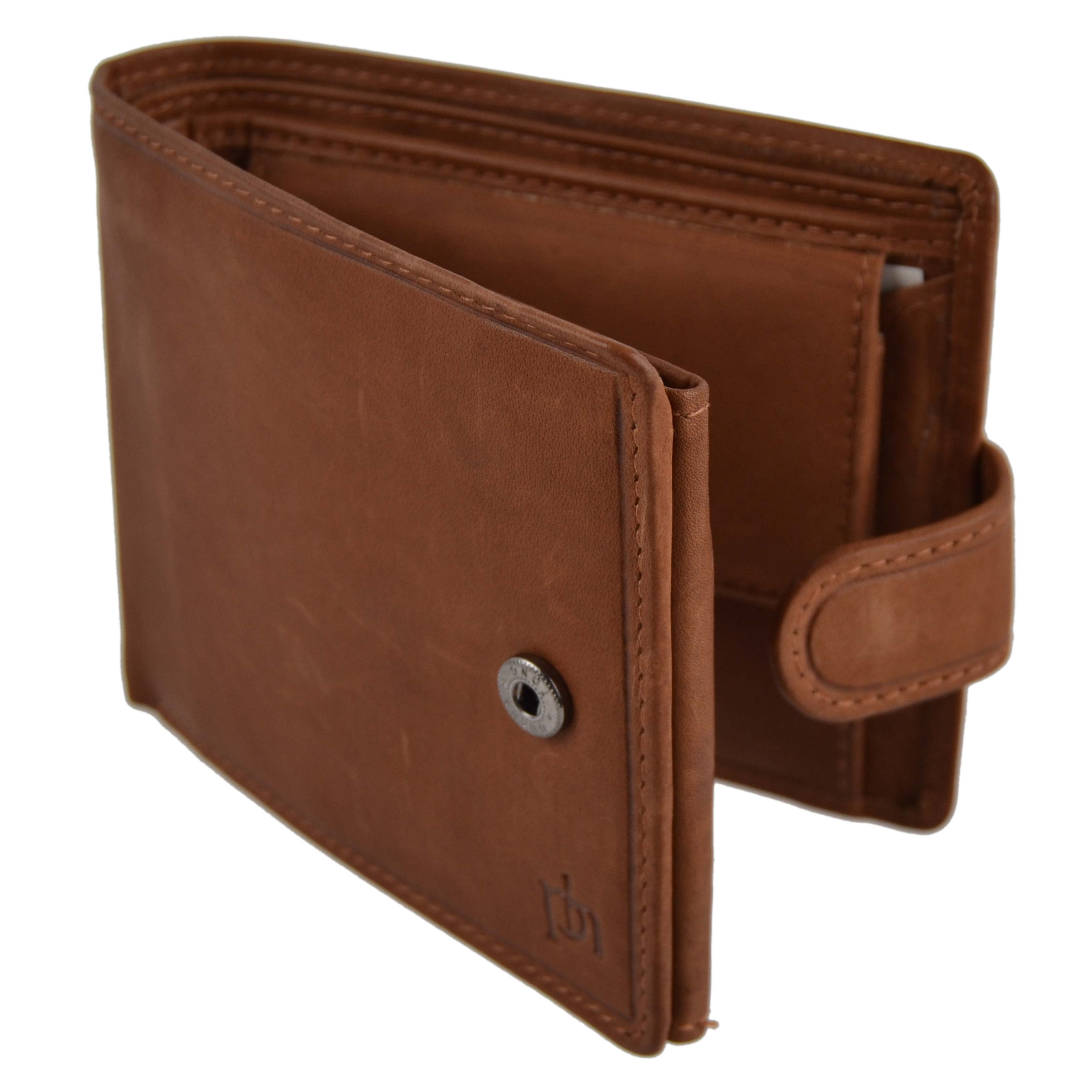 Mens-Quality-Leather-Wallet-by-Prime-Hide-Gift-Boxed-Stylish-with-Coin-Pocket thumbnail 17
