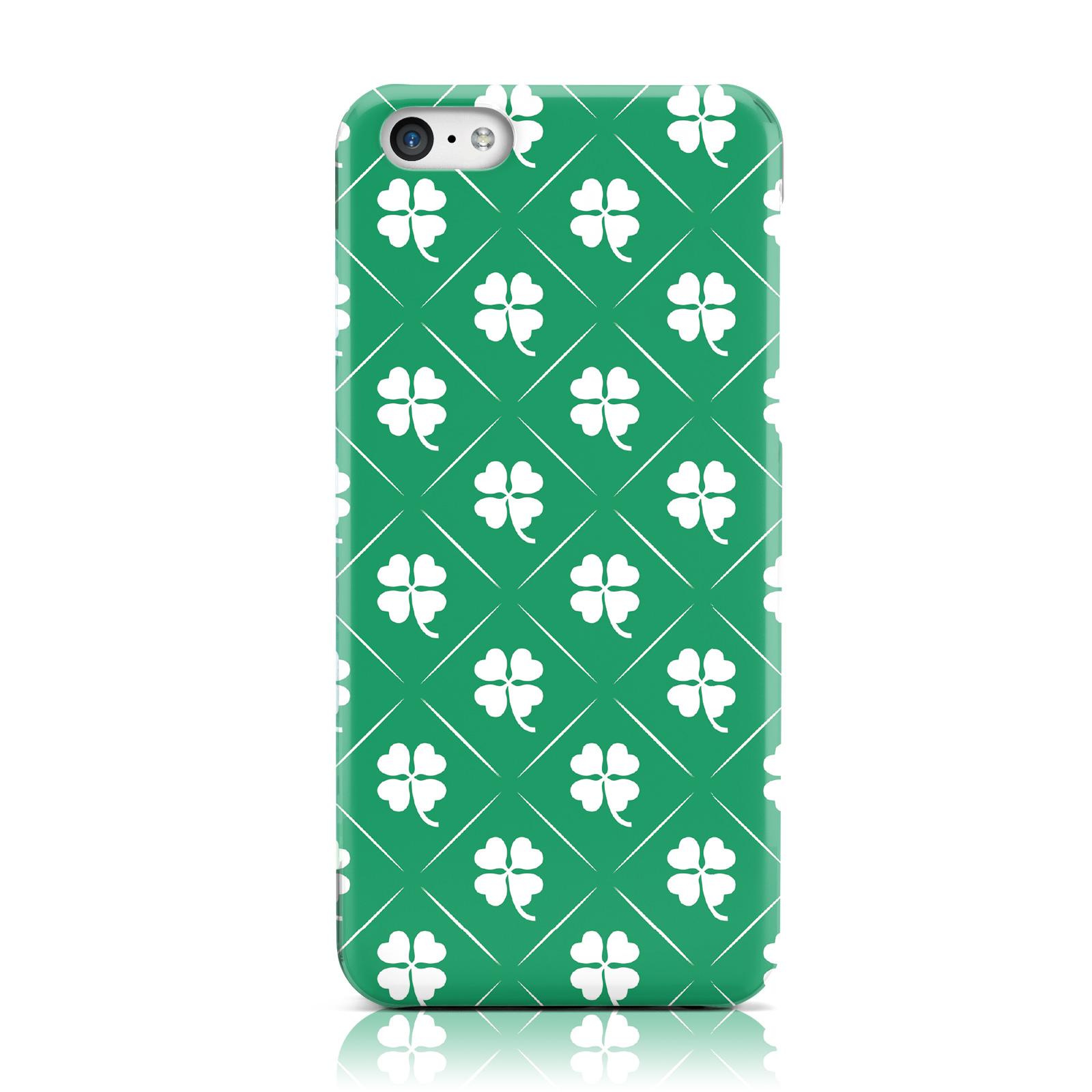 dyefor-Trebol-Irlandes-En-Verde-Funda-Funda-para-Apple-iPhone-telefonos-moviles