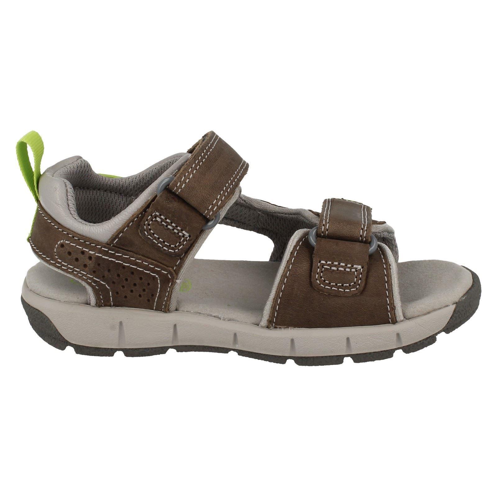 Details about InfantJunior Boys Clarks Jolly Wild Casual Summer Sandals