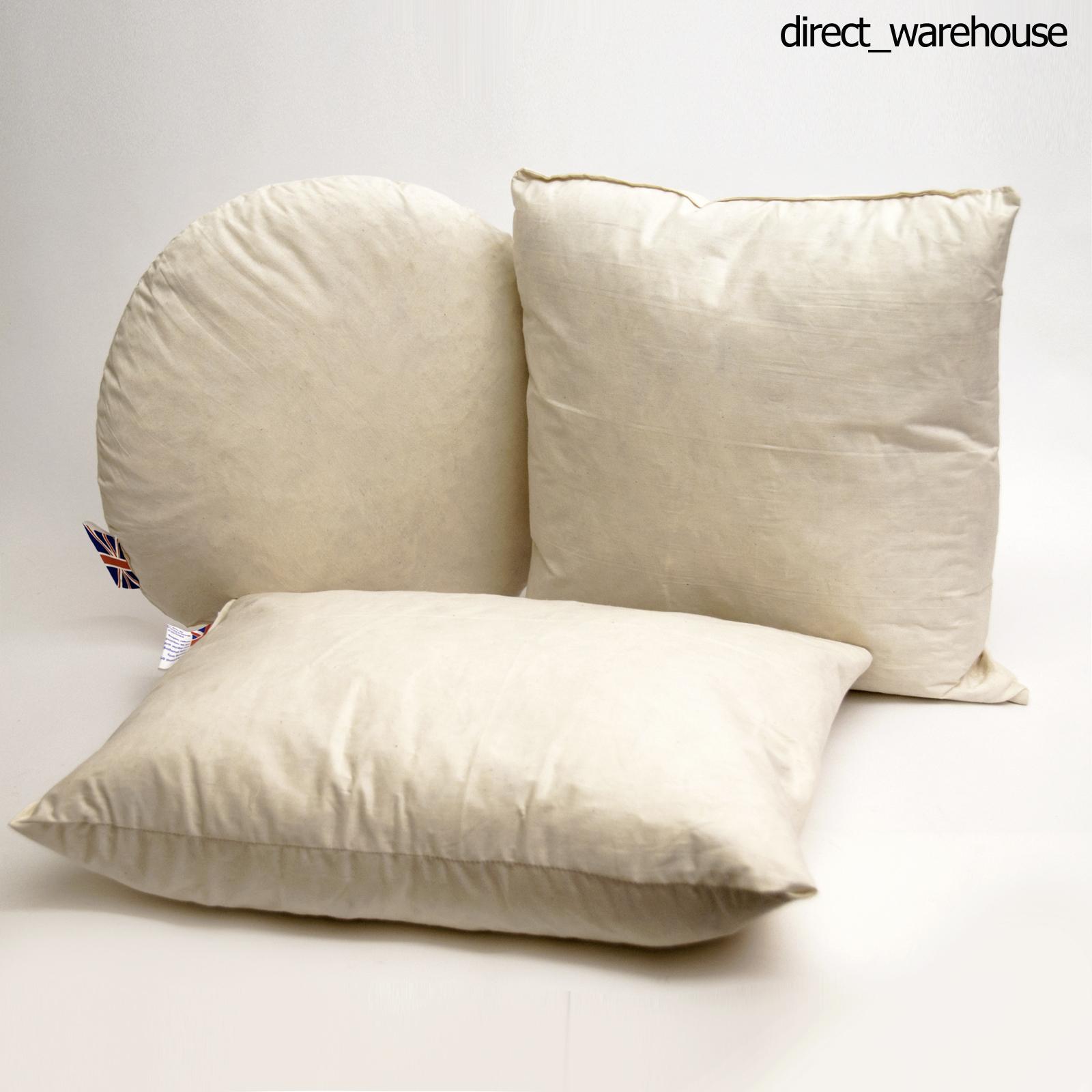 kissen f llung einsatz kissen streu f ller hohlfaser mikrofaser entenfeder ebay. Black Bedroom Furniture Sets. Home Design Ideas