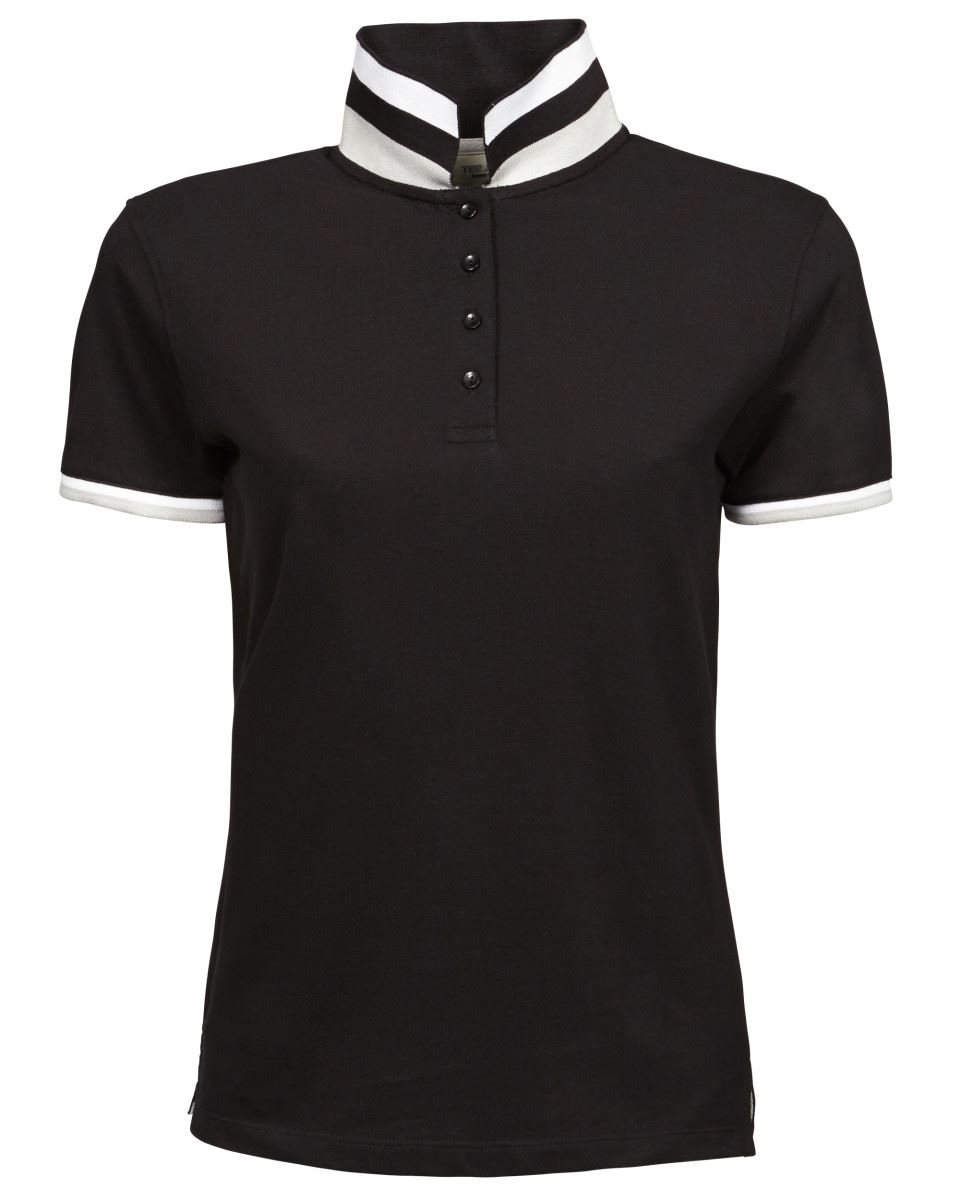 Mujer-Club-polo-womens-manga-corta-polos-de-Camiseta-Jays
