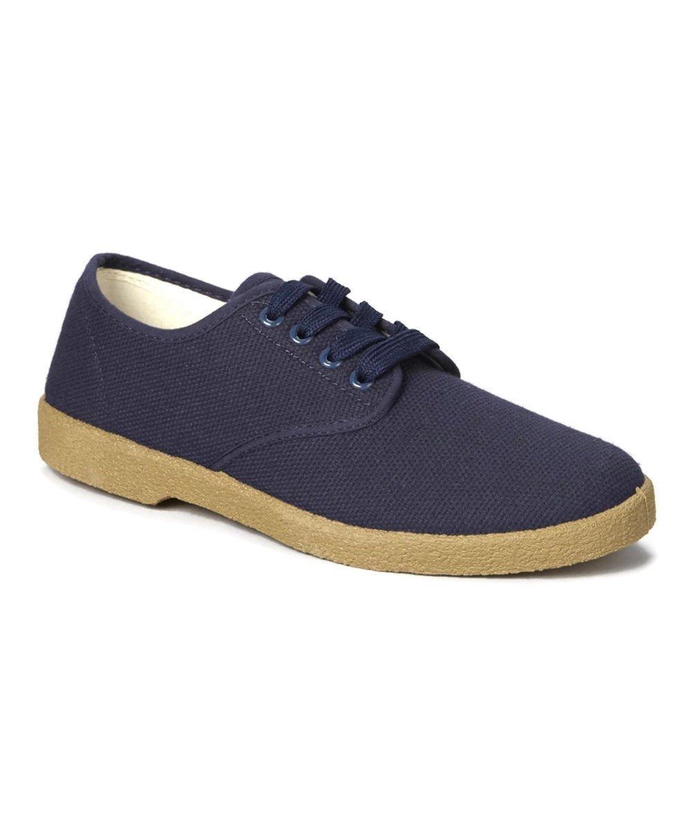 Zig Zag Leinen Winos Oxford Schuhe Marineblau Winos Leinen Größen 6.5-13 89607a