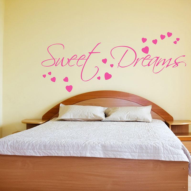Sweet dreams da parete adesivo decorazioni adesive for Decorazioni da parete adesive
