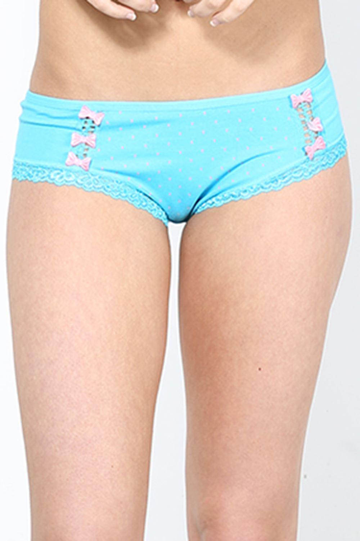 Womens Underwear Ladies Summer Beach Dots Small Bow Ties Briefs ...