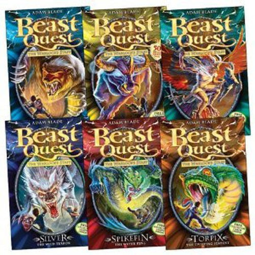 beast quest the complete series collection adam blade