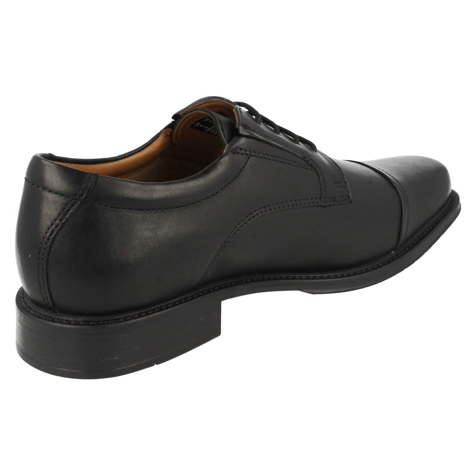 Billig gute Qualität Herren Clarks Driggs Kappe Schnürschuhe