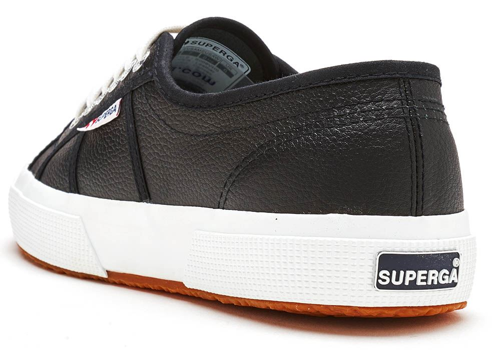 Baskets 999 2750 Shoes Noir 900 Efglu Blanc Cuir Superga In qEBn1wgwp