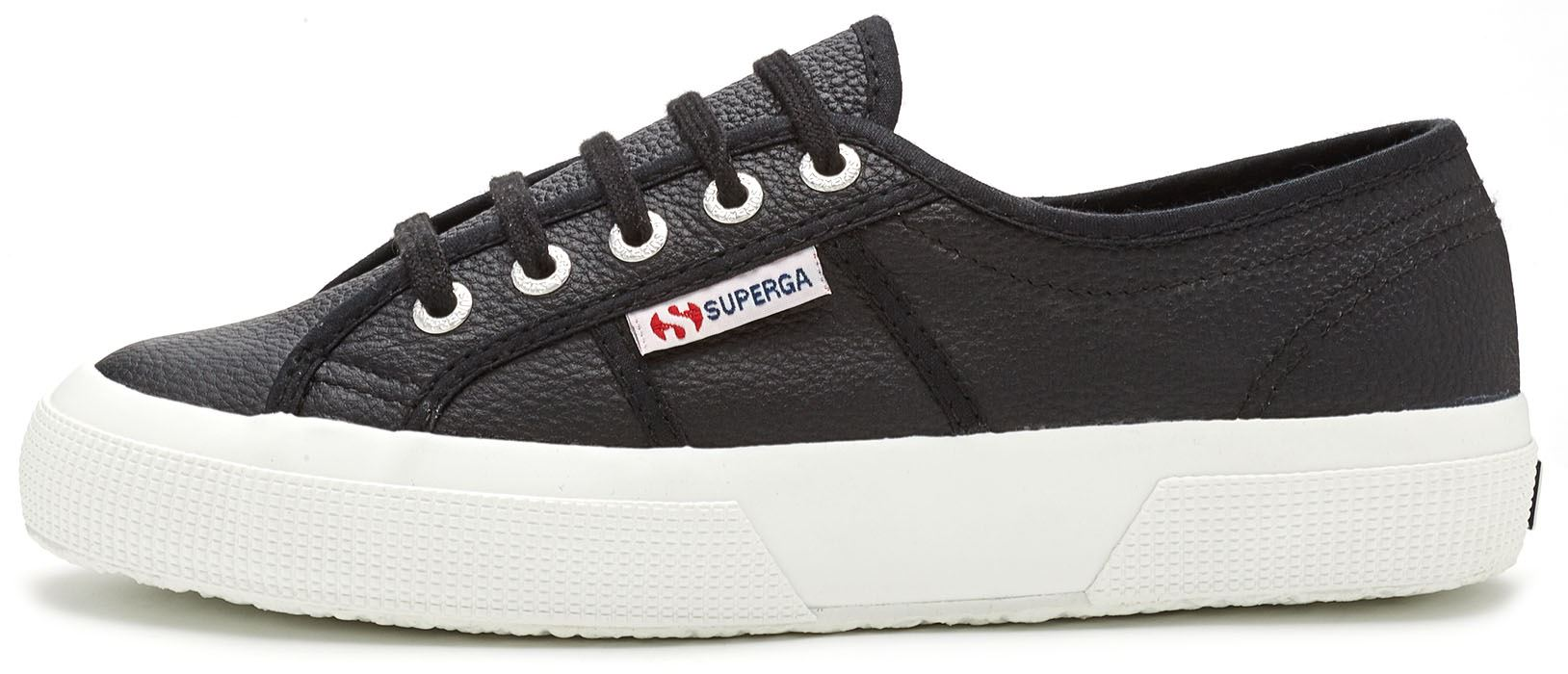 Superga Sneakers - Blanco Y Negro