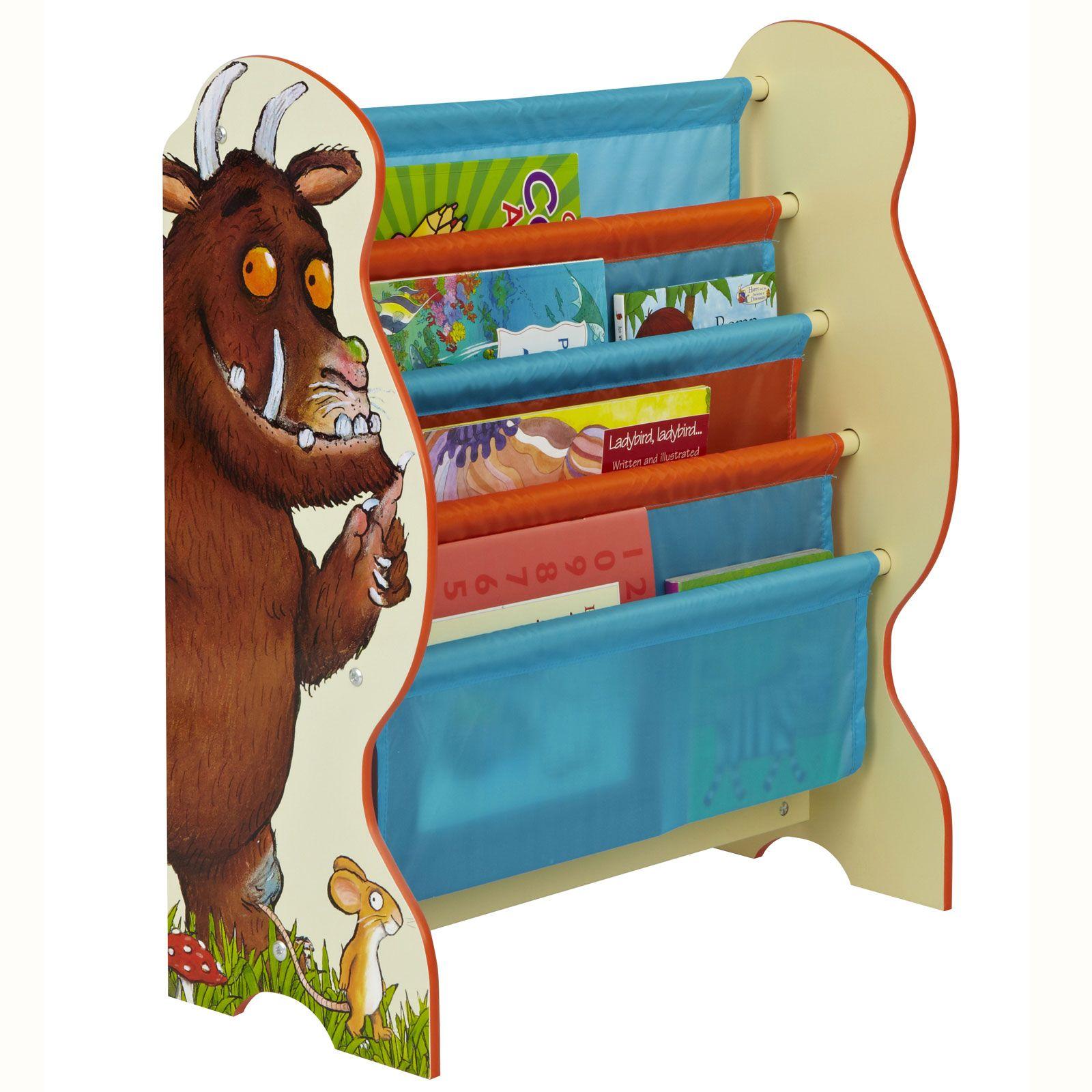 PERSONNAGE-Bibliotheque-Elingue-rangement-de-chambre-Peppa-Thomas-GRUFFALO