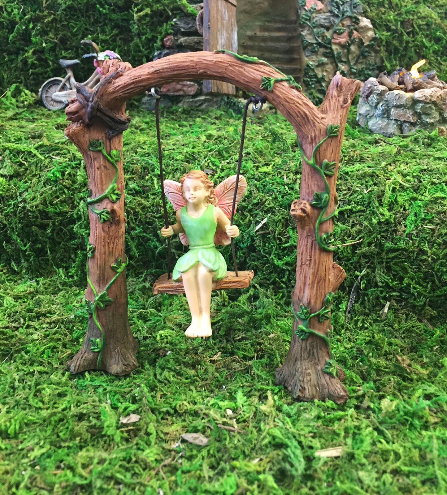 miniatura Micro Mini hada Muebles de jardín accesorio adorno regalo ...