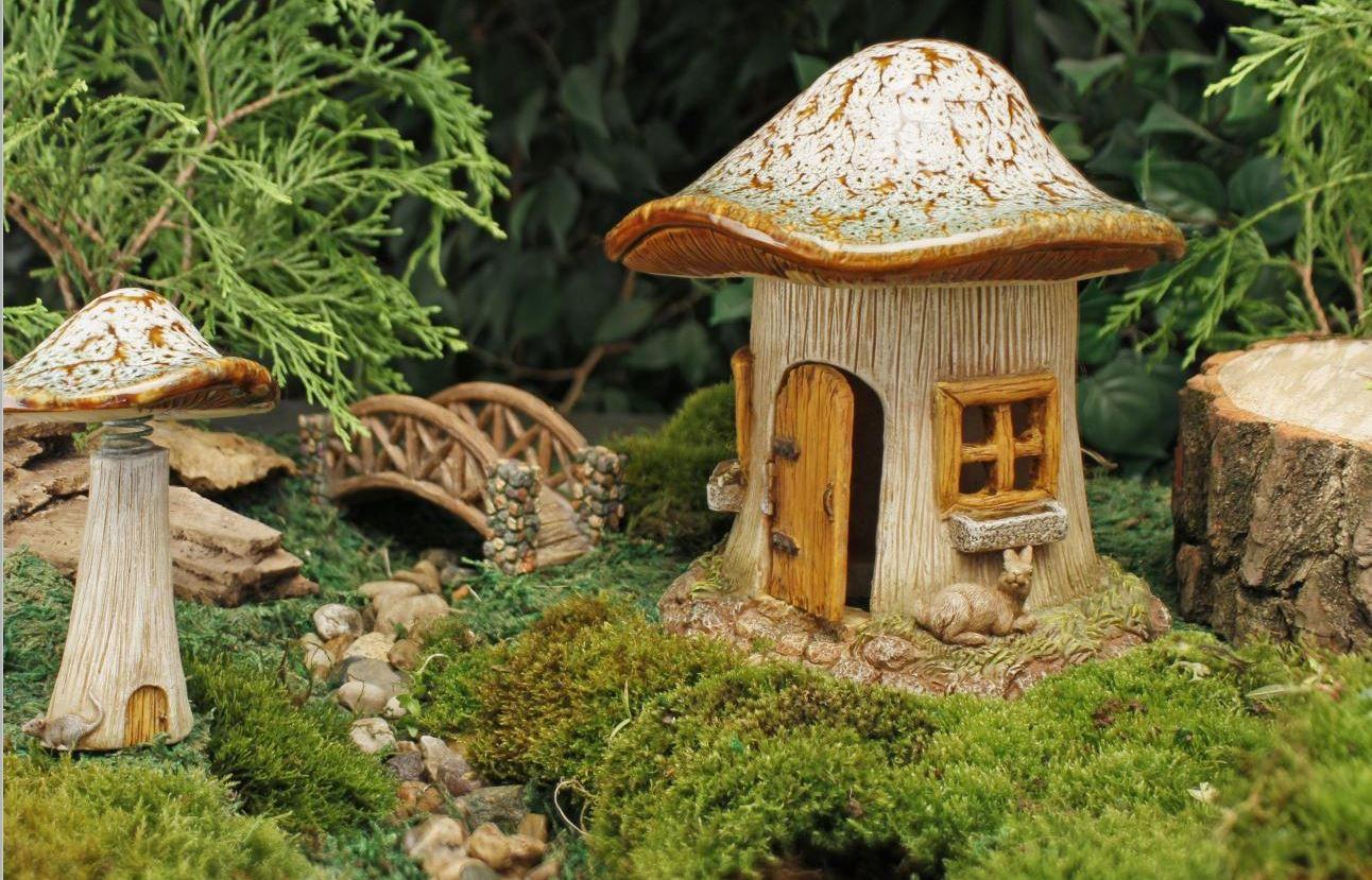 mini micro f riques meubles de jardin accessoire cadeau d 39 ornement maison lot ebay. Black Bedroom Furniture Sets. Home Design Ideas