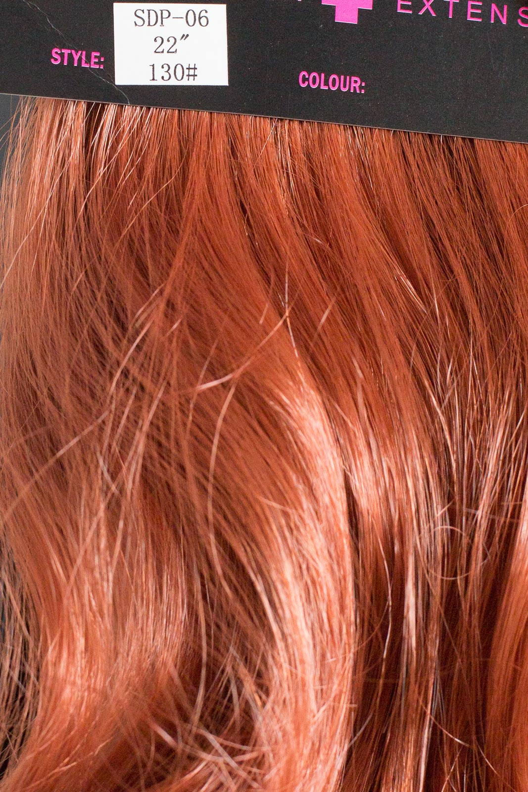 Ginger Ponytail Extension Human Hair Extensions