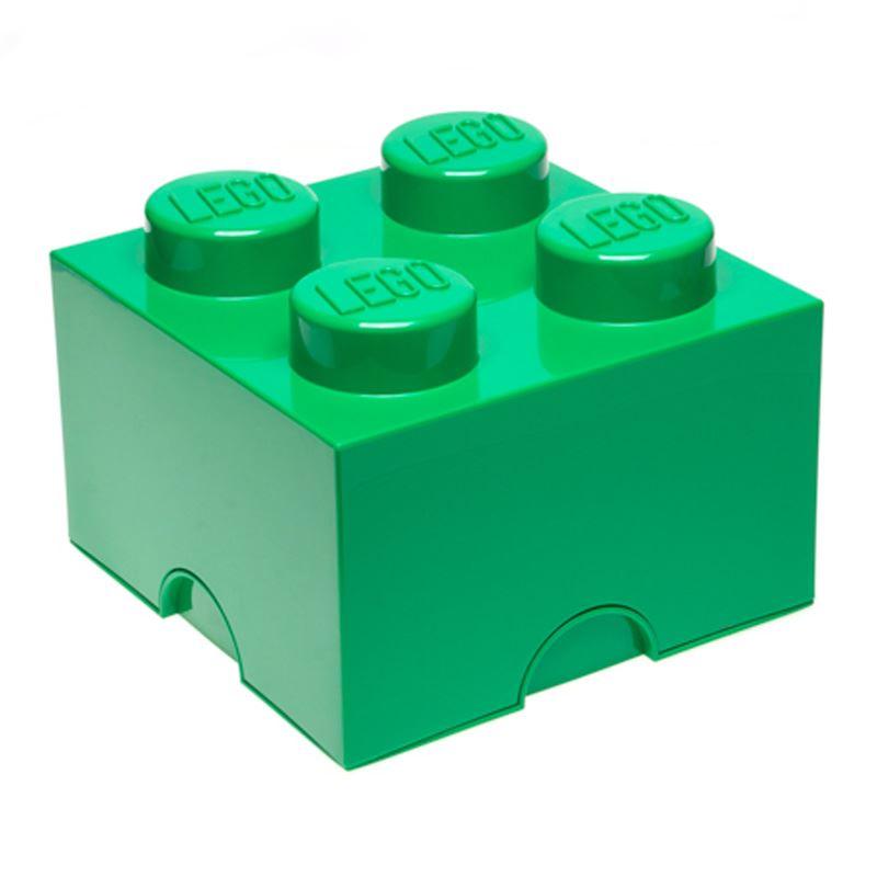 Lego almacenaje ladrillo caja 4 pomos infantil dormitorio cuarto de juegos ebay - Caja almacenaje infantil ...