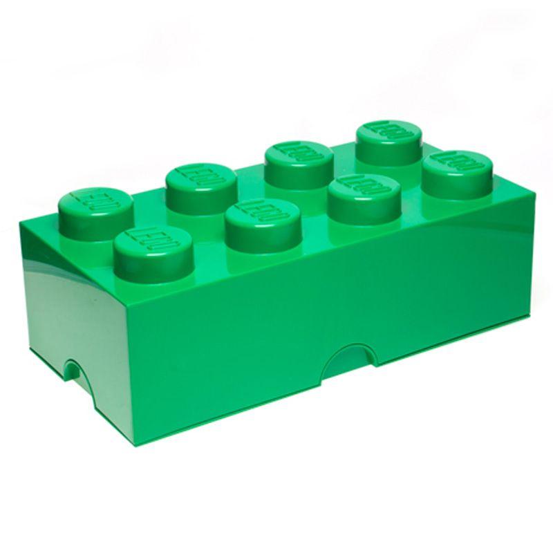 Lego almacenaje ladrillo caja 8 pomos infantil dormitorio cuarto de juegos ebay - Caja almacenaje infantil ...
