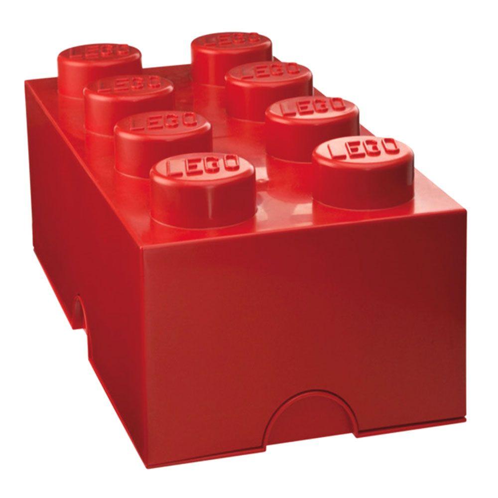 l go stockage brique boite 8 boutons enfants chambre coucher pour enfants ebay. Black Bedroom Furniture Sets. Home Design Ideas