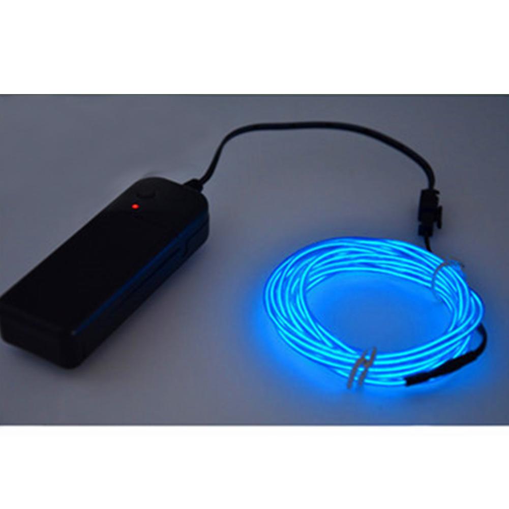 Nützlich Leuchtende LED-Licht El Draht Schnur Streifen Seil | eBay