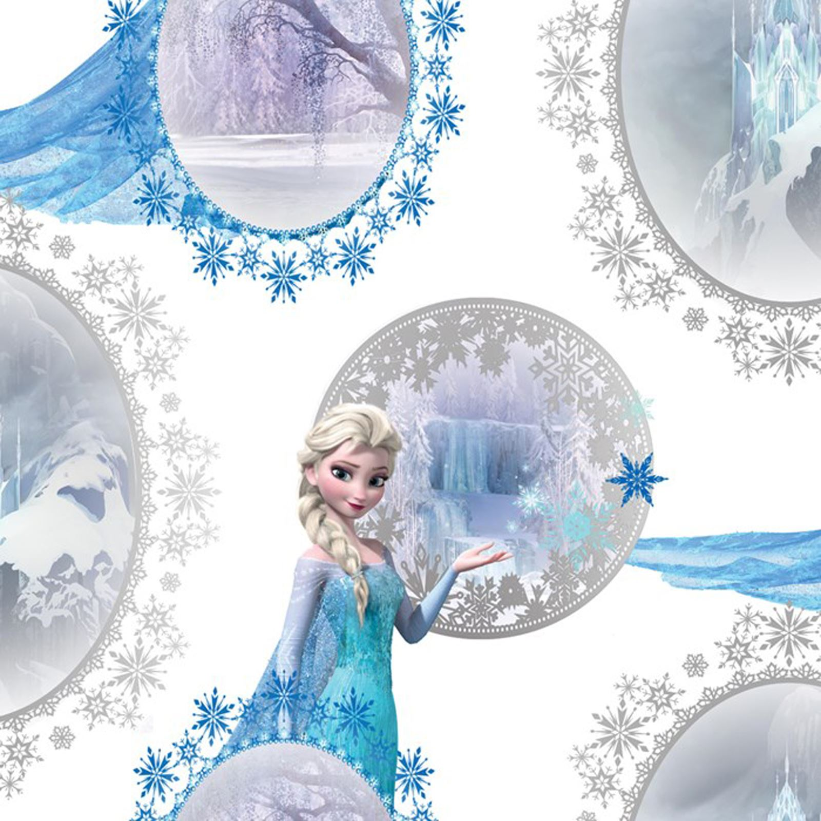 Disney frozen wallpaper borders and wall stickers wall dcor ebay disney frozen wallpaper borders and wall stickers wall dcor amipublicfo Choice Image