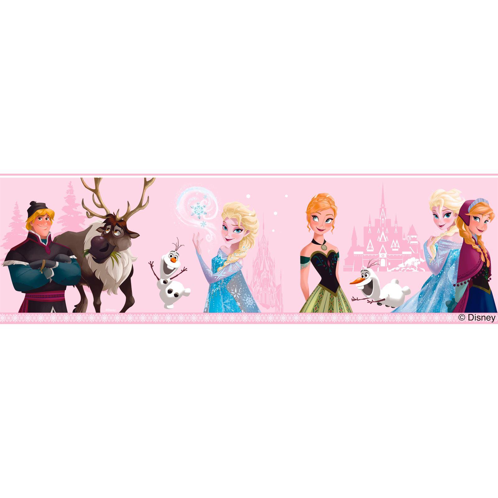 Disney frozen papel pintado cenefas y pared adhesivos de - Papel pintado y cenefas ...
