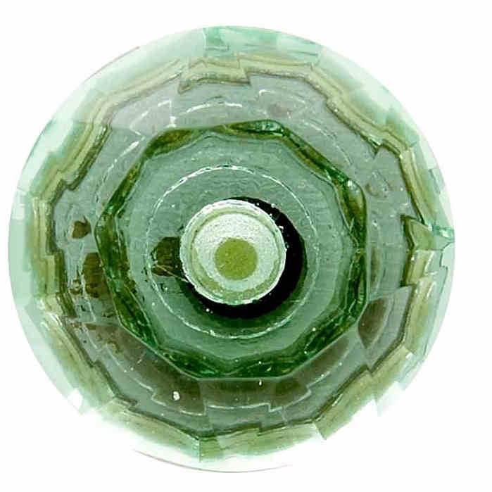Sup rieur color verre bouton de porte facettes vintage - Bouton de porte en verre ...