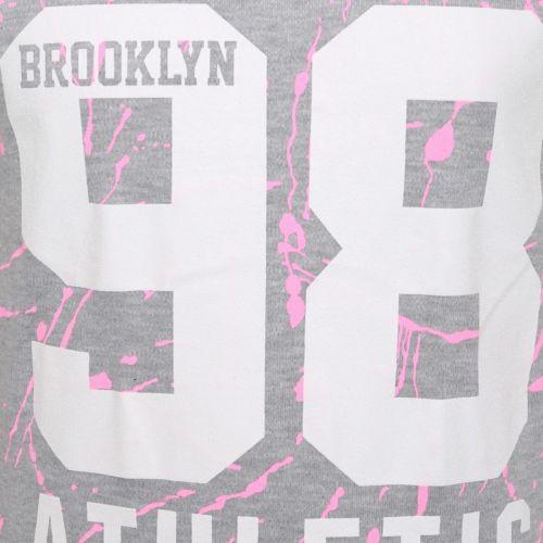 Mädchen Kinder Tarnfarbe New York Brooklyn 98 Aufdruck Top /& Leggings Satz Alter