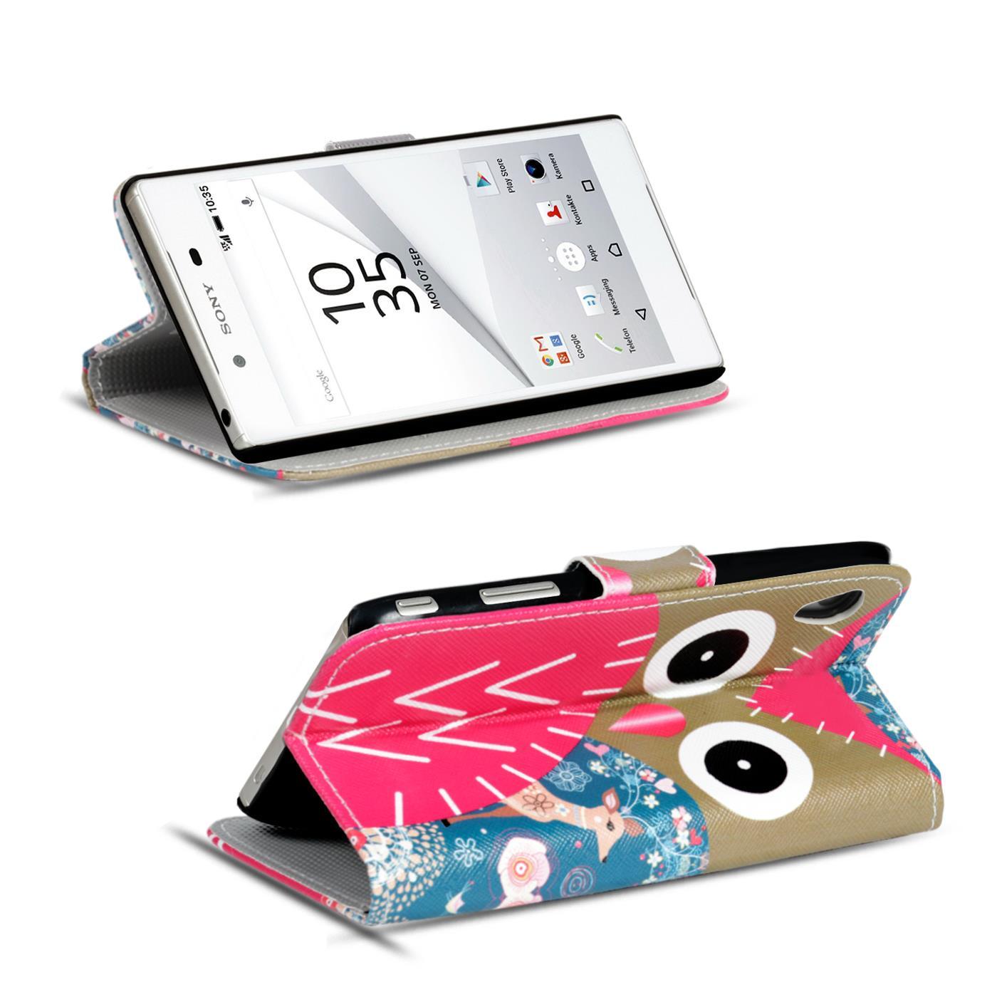 Etui-de-Portable-Motif-pour-Sony-Xperia-a-Clapet-Housse-COQUE-Protection