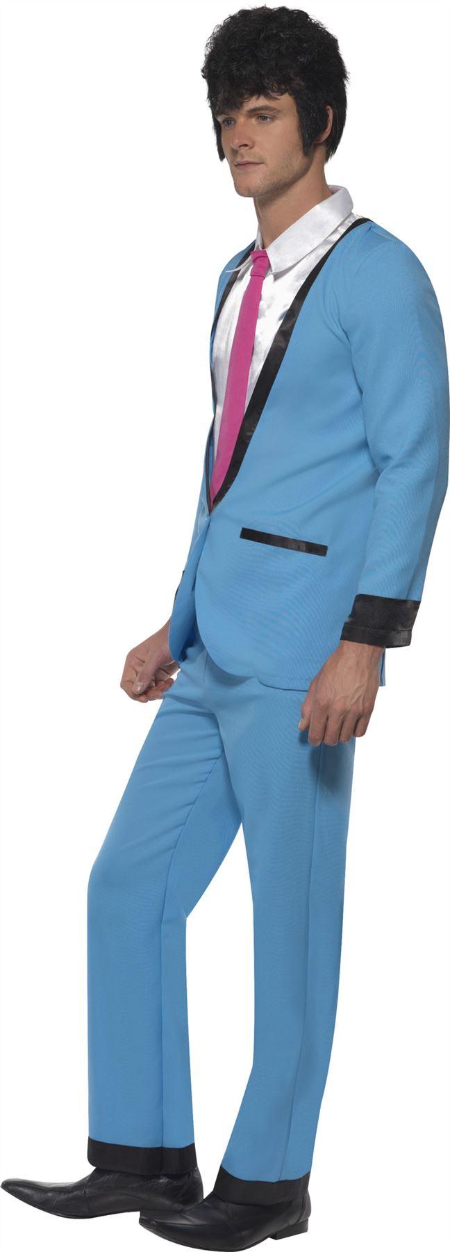 Hombre-Osito-Disfraz-para-nino-1950s-Disfraz-de-Rock-n-Roll-Disfraz-Adulto