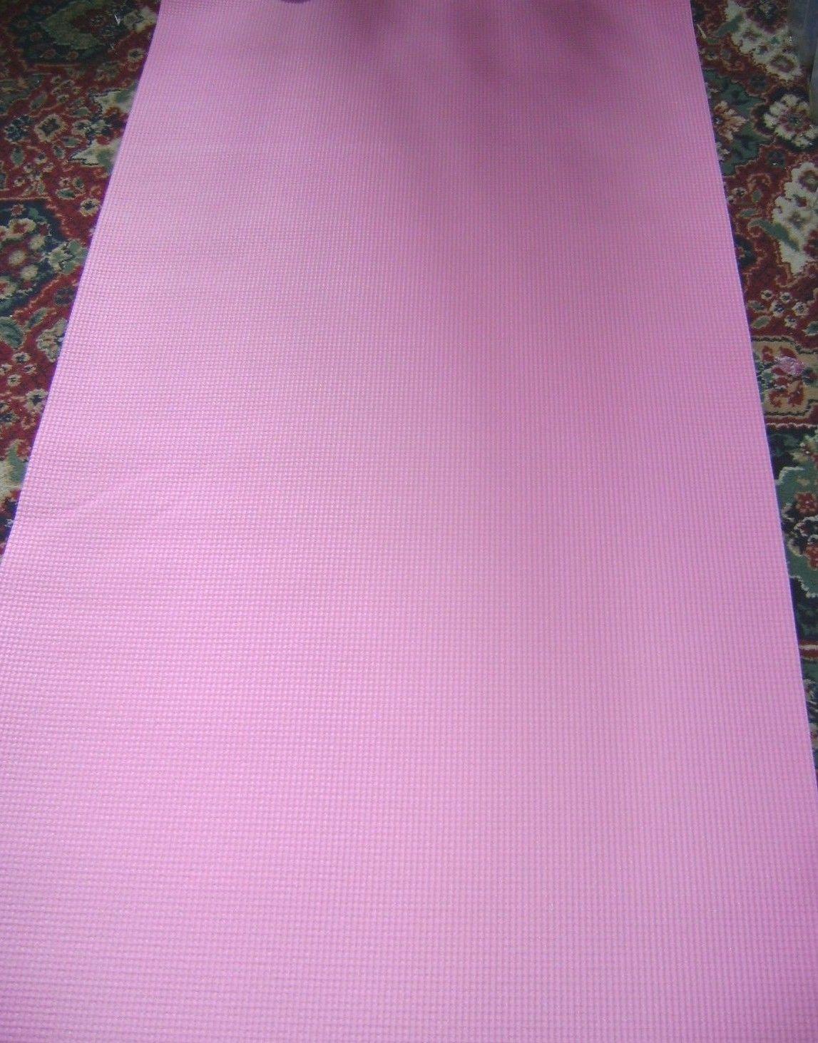 Nuevo-Yoga-Ejercicio-Suave-Esterilla-Acolchada-Antideslizante-Ligero-Azul-o-Rosa miniatura 9