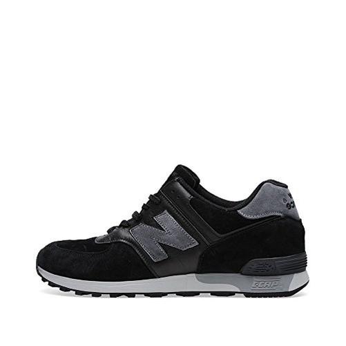 New Balance 576 Herren Schuhe schwarz/grau m576plk