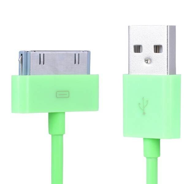 1-2X-1M-COLORIDO-30-PINES-USB-CABLE-CARGA-SINCRONIZACIoN-DATOS
