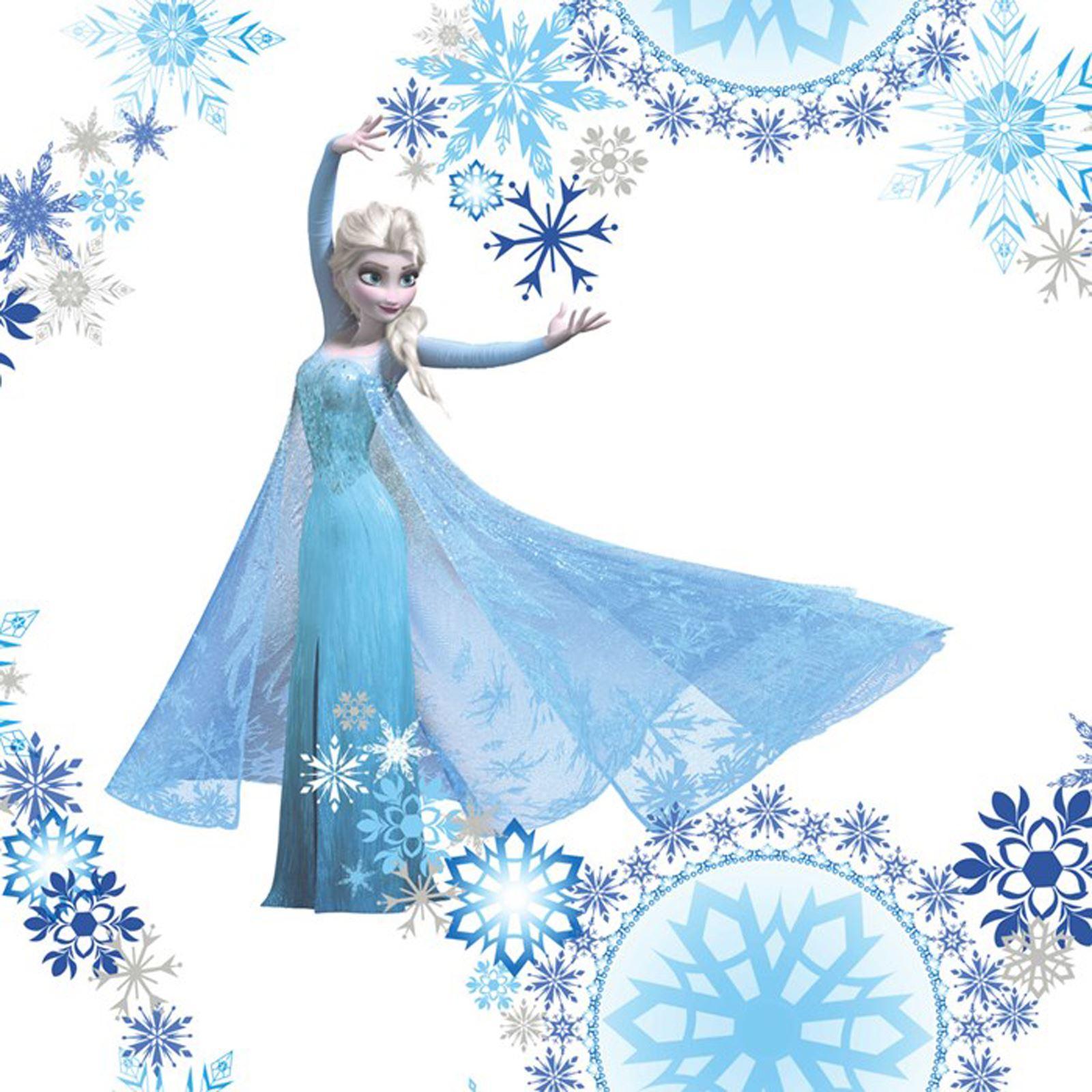 Disney frozen decoraci n de pared incluye papel pintado cenefas y pegatinas ebay - Papel pintado y cenefas ...
