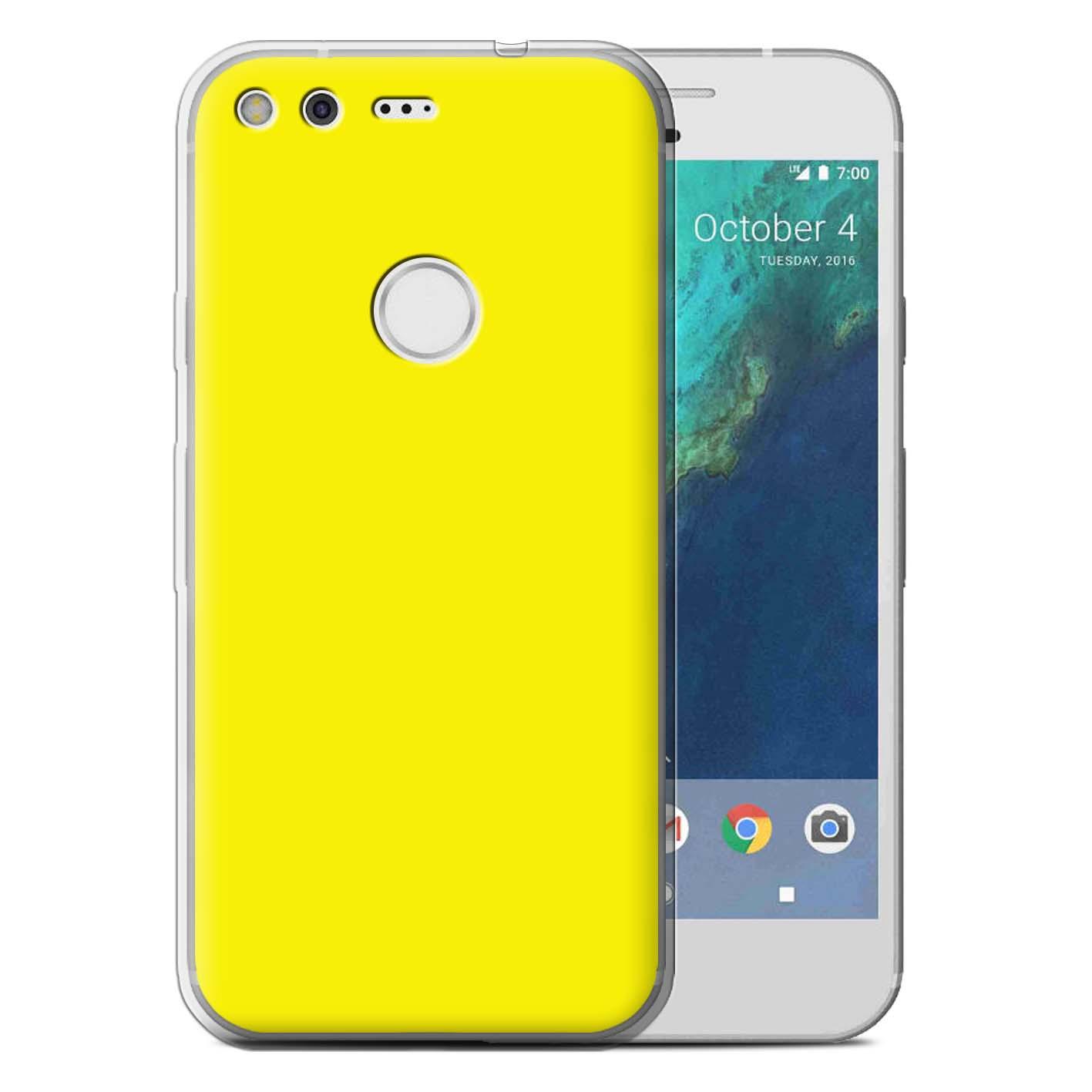 STUFF4-Gel-TPU-etui-pour-telePhone-Google-Nexus-Pixel-Smartphone-Couleurs-Housse