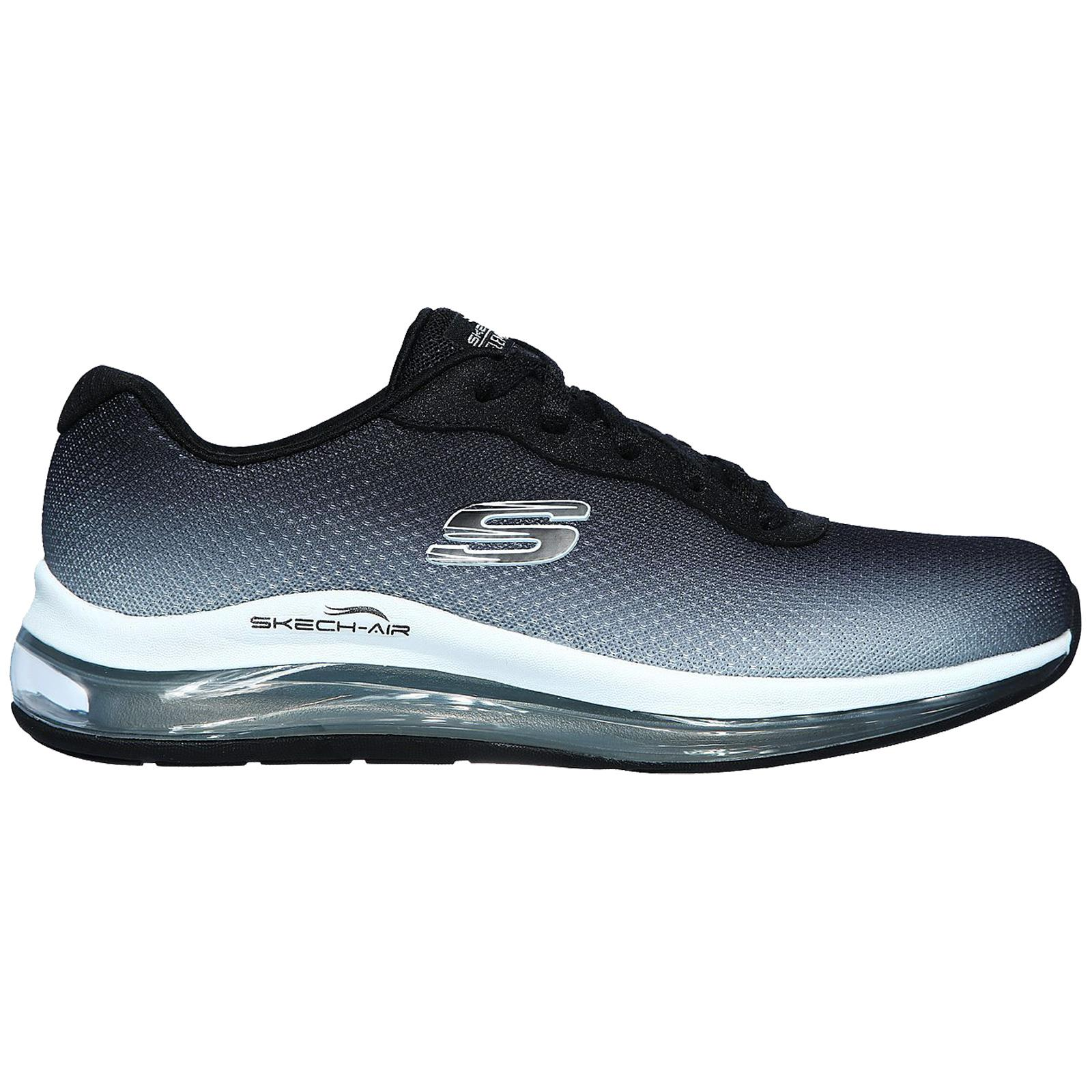 Skechers-Mujer-Skech-Air-Element-2-0-Zapatillas-Blanco-y-Negro miniatura 6