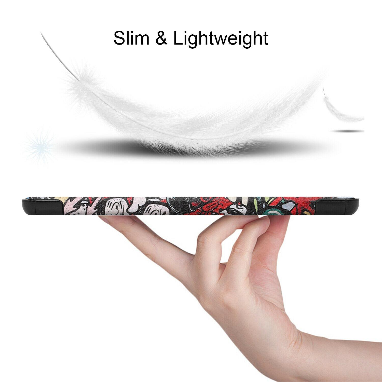 miniatura 83 - Cover Per Samsung Galaxy Scheda A7 SM-T500 T505 Custodia Protettiva Slim Case