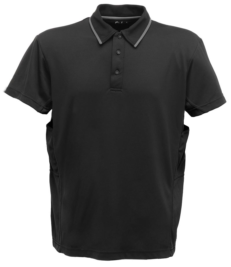 Regatta-PERFORMANCE-Coolweave-Polo-Hommes-Chemise-T-shirt-sechage-rapide