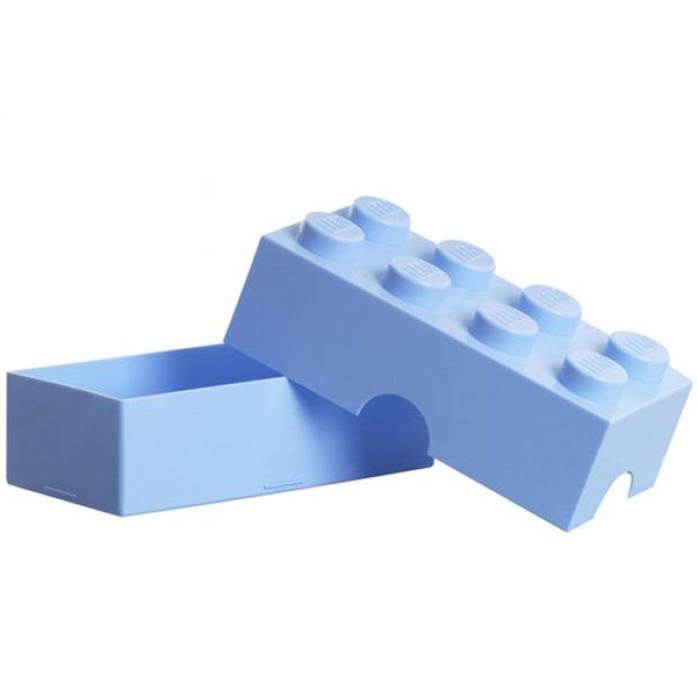 Lego almuerzo caja almacenaje infantil escolar fiambrera for Caja de colores jardin infantil