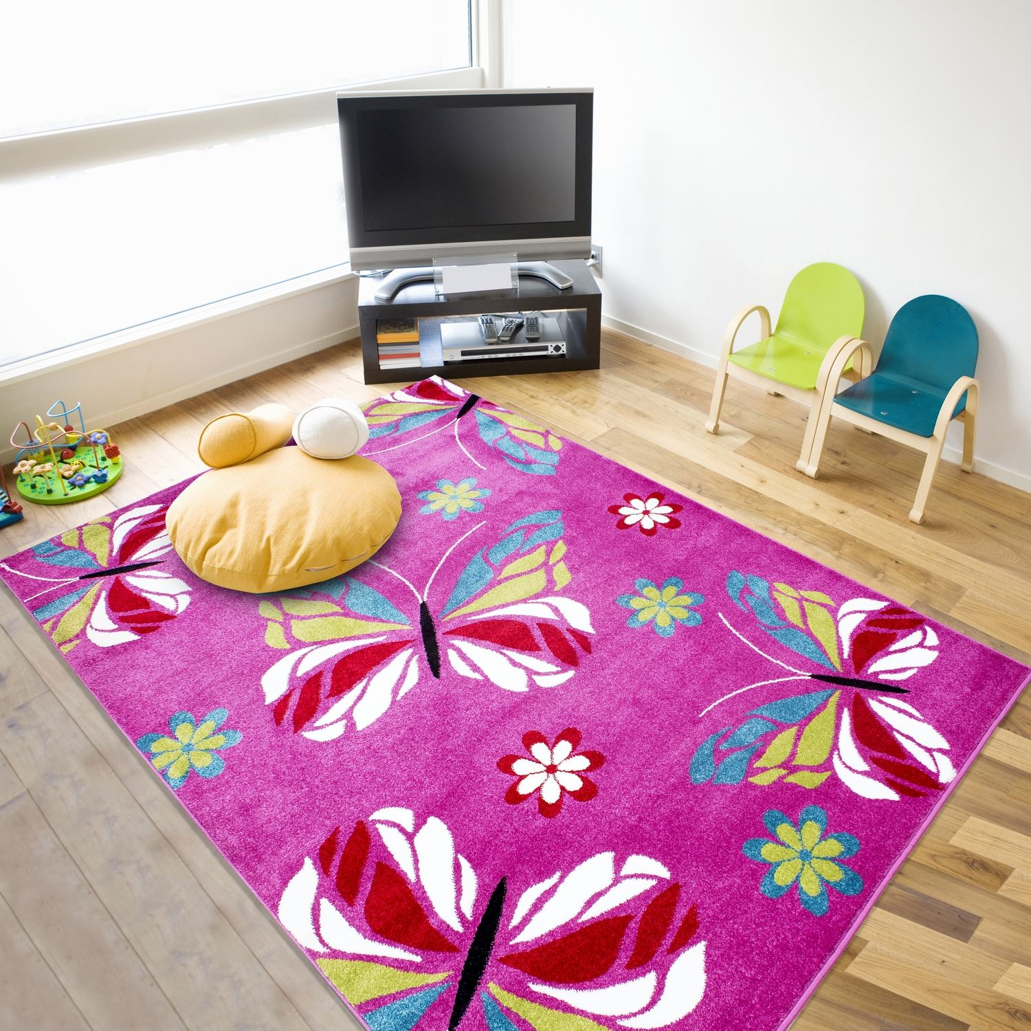 childrens bedroom rugs childrens soft quality bedroom blue pink car rugs 11103