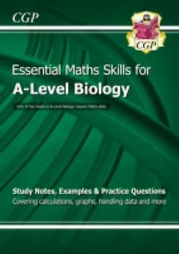 Neuf-A-Level-Biology-Essentiel-Maths-Skills-Cgp-Books