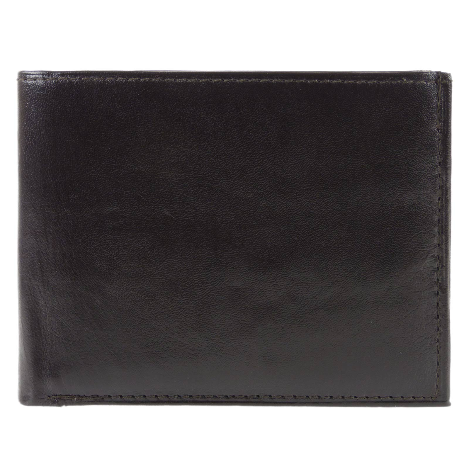 Mens-Quality-Soft-Nappa-LEATHER-Bi-Fold-Wallet-by-Oakridge thumbnail 9