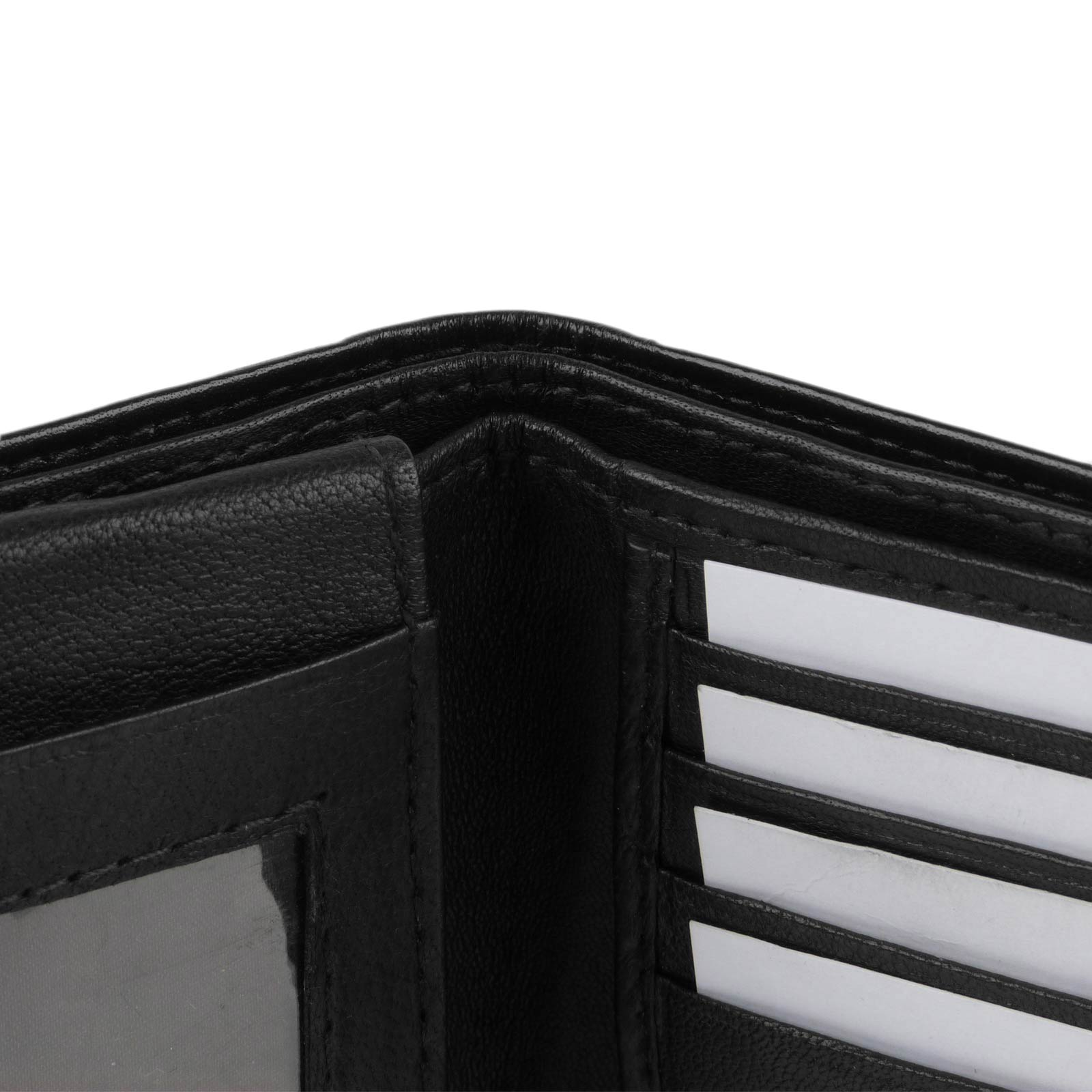 Mens-Quality-Soft-Nappa-LEATHER-Bi-Fold-Wallet-by-Oakridge thumbnail 6