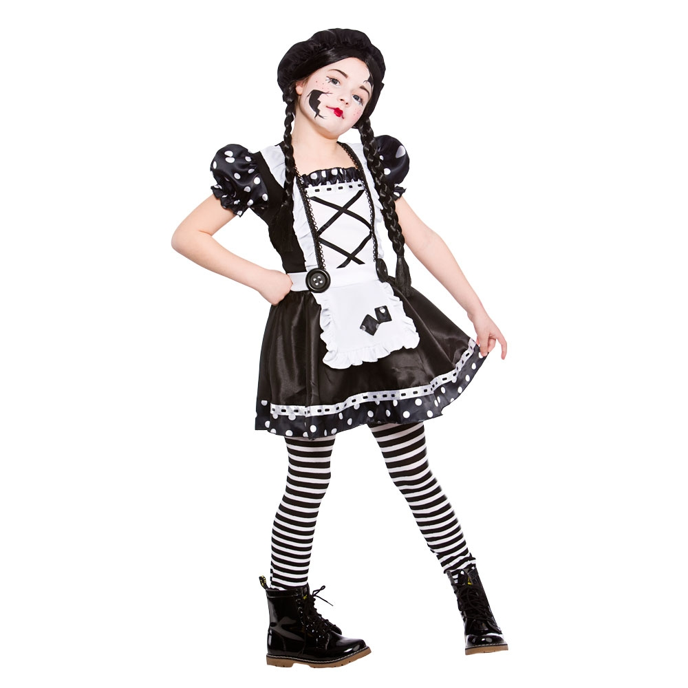 zombie rag doll adult womens childs girls make